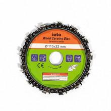 Disc cu lant 110 mm pentru polizor unghiular Micul Fermier