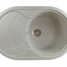 MIXXUS HB8310-G319 NISIP, chiuveta ovala bucatarie granit
