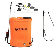 Pompa stropit gradina electrica Elefant, 16 litri, acumulator, 6 bar, regulator, lance 85 cm, 3 duze