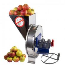 Razatoare fructe Vinita, manuala + fulie atasare motor, Tambur+cuva inox