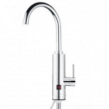 Robinet electric Aquatic Elefant SC30H45X, 3000W, Afisaj LED, Cartus ceramic, Temperatura apa 30-40 grade