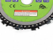 Disc cu lant 125 mm pentru polizor unghiular Micul Fermier