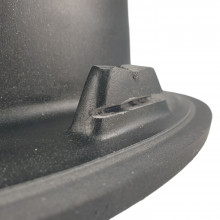 MIXXUS HB8310-G226 NEGRU, chiuveta ovala bucatarie granit