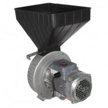 Moara cereale Gazda M71, Uruitor electric 1.7 kW Cuva Mare, 20 ciocanele
