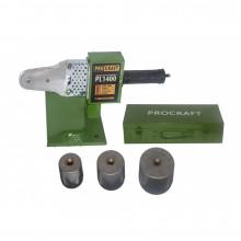 Plita PPR Procraft PL1400, ciocan sudura 1400W, 50-300 grade, 20 25 32 mm
