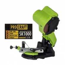 Procraft SK1000, Aparat de ascutit lant drujba , 1 kw, panza 105 mm, 5000 rotatii/minut