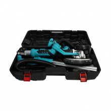 Slefuitor pentru pereti pliabil cu aspirator si LED, 750W, Ø225mm, Detoolz