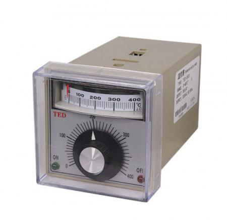 Controler de temperatura industrial, 400 grade Celsius, afisaj analogic - TED-2001