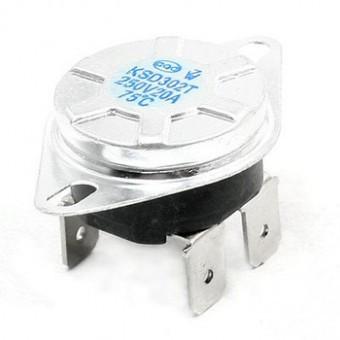 Senzor de temperatura, 250 V-20 A - 70 °C