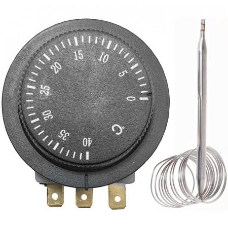 Termostat 0°C - +40°C 250V 16A