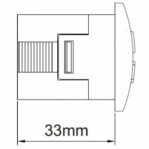 Termostat electronic universal Keld KLT11DR230C