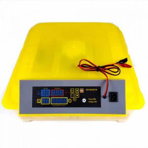 Incubator automat cu alimentare dubla 12/220V, 48 oua