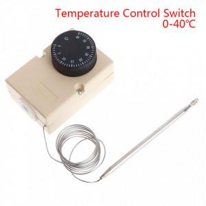 Termostat 0°C - 40°C 250V 16A