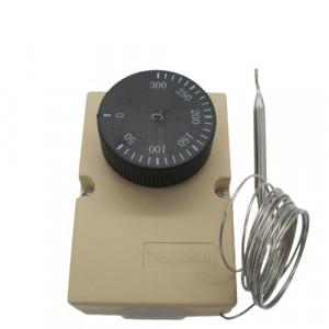 Termostat cuptor 50 - 300˚C cu sonda de inox 90 mm