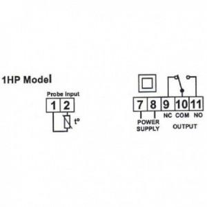 Termostat digital programabil 12V, KLT11DR12C