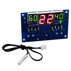 Termostat electronic W1401 12V cu senzor