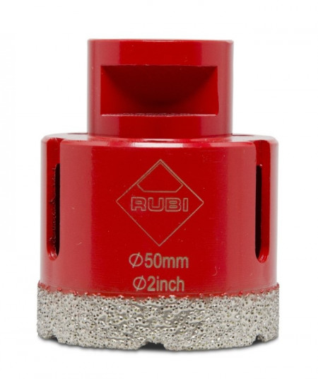 Carota diamantata pt. portelan, placi ceramice DryGres 50mm - RUBI-4914