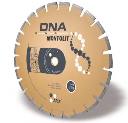 Disc diamantat Montolit DNA LXA450 - taiere uscata - pt. asfalt/beton
