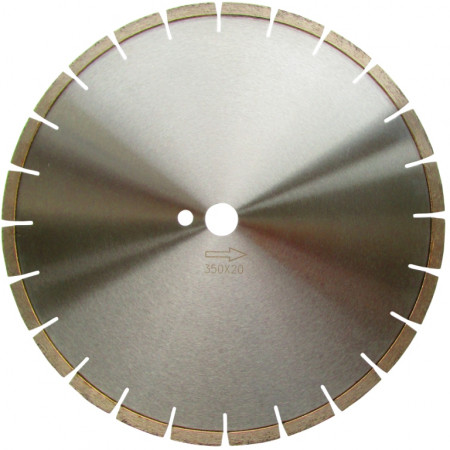 Disc DiamantatExpert pt. Caramida ft. dura - Laser 350x25.4 (mm) Premium - DXDH.18017.350.25