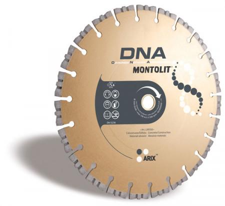 Disc diamantat Montolit DNA LXR350 - taiere uscata - pt. beton, materiale abrazive, etc.
