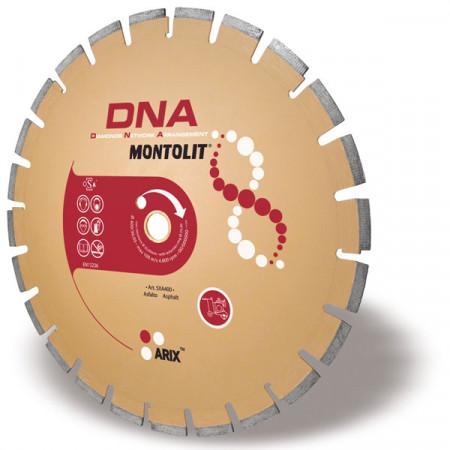 Disc diamantat Montolit DNA SXA400 - taiere cu apa - pt. asfalt