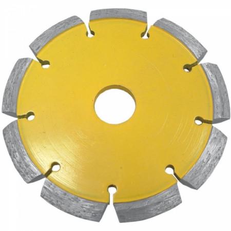 Disc diamantat pentru taieturi in V, diametru 125mm - H1268 - Dedra