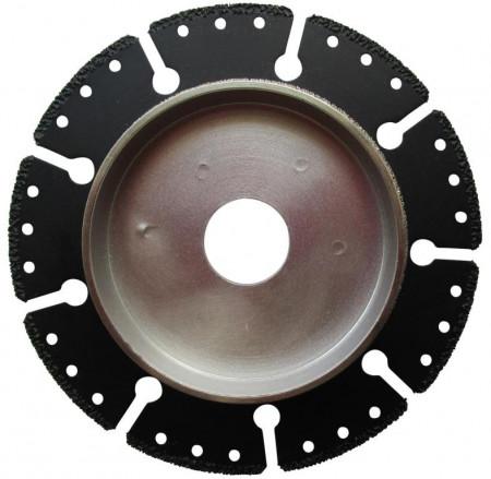 Disc DiamantatExpert pt. taiere si sanfrenare tevi de plastic 125x22.2 (mm) Super Premium - DXDH.9107.125.TA