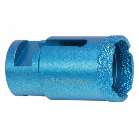 Carota diamantata brazata in vacuum, diametru 35mm - DED1590S35 - Dedra