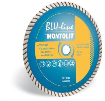 Disc diamantat Montolit TEH230F - taiere uscata - pt. materiale de constructii
