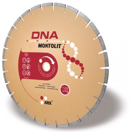 Disc diamantat Montolit DNA SXF350 - taiere cu apa - pt. beton proaspat