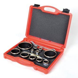 Kit carote diamantate Montolit FA 20-120 mm - pt. placi ceramice, gresie portelanata, etc.