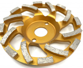 Cupa diamantata segment tip ventilator - Beton/Abrazive 125x22.2mm Premium - DXDY.PSCC.125