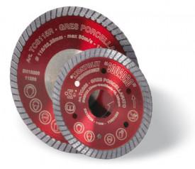 Disc diamantat Montolit TCS350R - taiere uscata - pt. portelan, placi ceramice dure, etc.