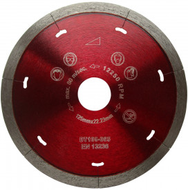 Disc DiamantatExpert pt. Ceramica Dura & Portelan - Rapid 250mm Super Premium - DXDH.3907.250