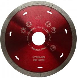 Disc DiamantatExpert pt. Ceramica Dura & Portelan - Rapid 250x25.4 (mm) Super Premium - DXDH.3907.250.25