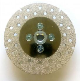 Disc DiamantatExpert pt. (galvanizat) pt. taiat si slefuit 115xM14 (mm) Super Premium - DXCD.CDP.115.G80