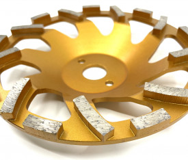 Cupa diamantata segment tip ventilator - Beton/Abrazive 180x22.2mm Premium - DXDY.PSCC.180