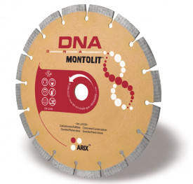 Disc diamantat Montolit DNA LX150 - taiere uscata - pt. beton, granit, piatra dura, etc.