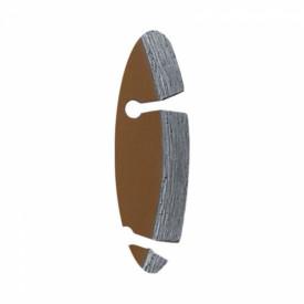 Disc diamantat pentru beton, diametru 250mm - Standard - H1111E - Dedra