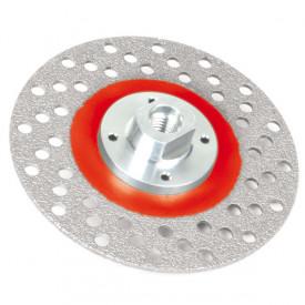 Disc diamantat pt. slefuit Montolit STL125GG - pt. portelan, granit, piatra, beton