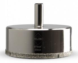 Carota diamantata pt. portelan, placi ceramice EasyGres 75mm - RUBI-5979