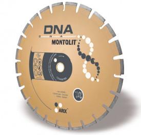 Disc diamantat Montolit DNA LXA400 - taiere uscata - pt. asfalt/beton