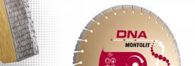 Disc diamantat Montolit DNA SX400 - taiere cu apa - pt. beton