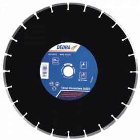 Disc diamantat pentru asfalt, diametru 300mm - Standard - H1182 - Dedra