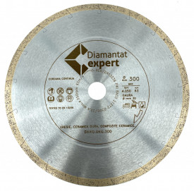 Disc DiamantatExpert pt. Ceramica dura, portelan pt. terase gros 250mm Ultra Premium - DXWD.DKG.250