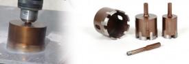 Carota diamantata Montolit FT 27 mm - pt. portelan, ceramica, granit, etc.