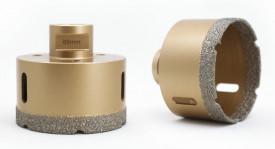 Carota diamantata pt. gresie portelanata & piatra - diam. 120mm - Premium - DXDY.GOLDrill.120