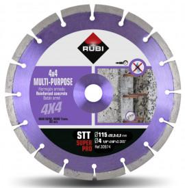 Disc diamantat multi-uz 115mm, STT 115 SuperPro - RUBI-30974