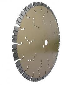 Disc DiamantatExpert pt. Beton armat extrem de dur & piatra - SHARK 450x25.4 (mm) Super Premium - DXDH.2040.450.25