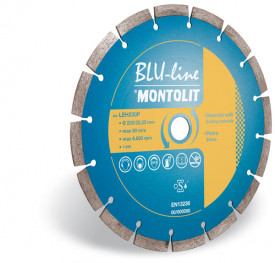 Disc diamantat Montolit LEH750 - taiere uscata - pt. materiale de constructii